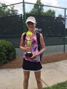 Ruta Petrikis- Winner of the Girls' 14 and Under Division